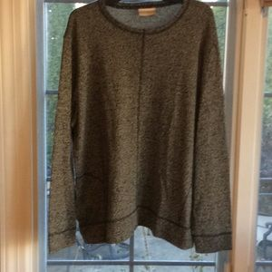 Coldwater Creek Pullover Front Pocket Sweatshirt